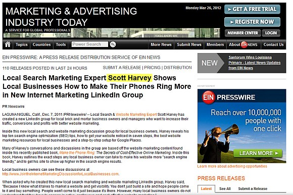 featured on marketing and advertising today