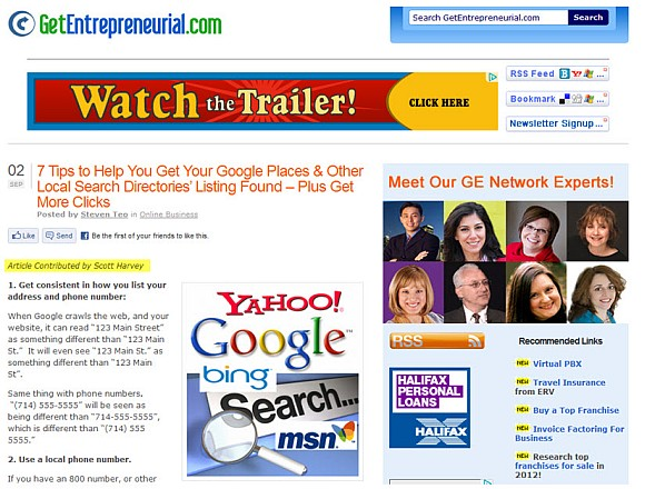 featured on get entrepreneurial